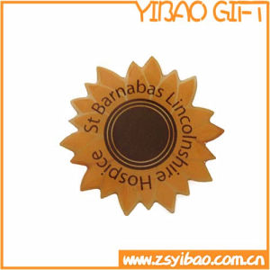 Sunflower Badge with Epoxy Coating (YB-p-020) pictures & photos