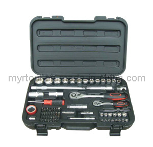 74PCS Professional Socket Tool Set (FY1074B) pictures & photos