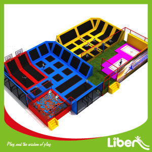 Providers Huge Indoor Trampoline Center with Customizing Design pictures & photos