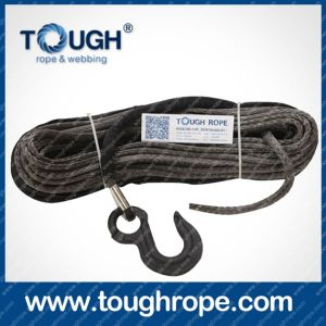 Tr-04 Forestry Winch Dyneema Synthetic 4X4 Winch Rope with Hook Thimble Sleeve Packed as Full Set pictures & photos