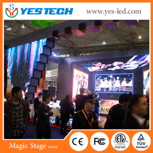 Flexible Slim Rental Indoor LED Video Screen Wall (P3.9mm, 500*500mm Cabinet) pictures & photos