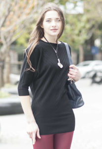 Women′s Fashion Cashmere Sweater (1500002036) pictures & photos