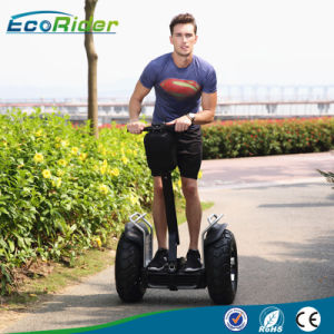 1266wh Double Battery 72V 21 Inch 4000W Fat Tire Electric Scooter Self Balancing Scooter Chariot pictures & photos