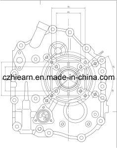 Air-Cooled 4-Stroke Diesel Engine (HR186FA) pictures & photos