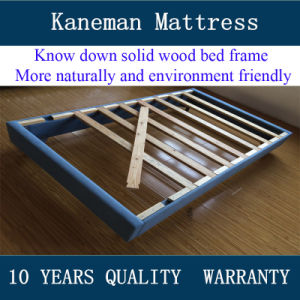 Knock Down Cheap Solid Wood Bed Frame pictures & photos