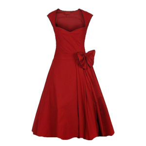 Hot Sell Celeb Walson Rockabilly Evening Party Robe Boutique Dresses for Lady pictures & photos