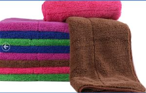 Microfiber Coral Fleece Towel/Bath Towel/Beach Towel