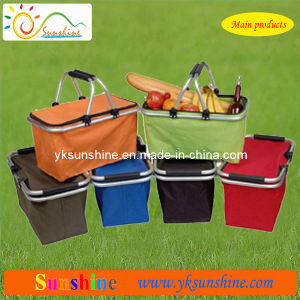 Folding Shopping Basket (XY-303A) pictures & photos