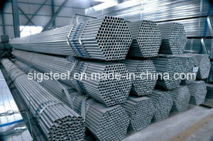 Zinc Coating 40-180GSM Round Steel Pipe pictures & photos