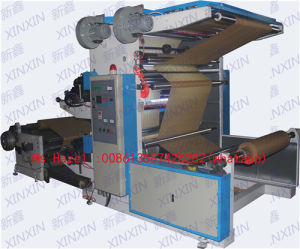 Kraft Craft Paper Flexographic Printing Machine 2 Color pictures & photos