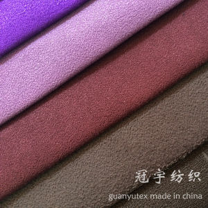 Premium Soft Polyester Suede Fabric for Home Textile pictures & photos