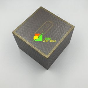 Hot Stamping Grey Art Jewellery Paper Packing Gift Box pictures & photos