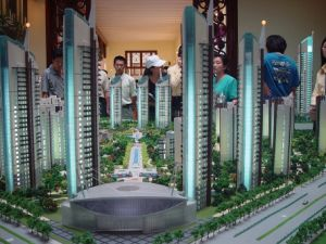 Architectural Model, Scale Model of Real Estate Development (JW-316) pictures & photos
