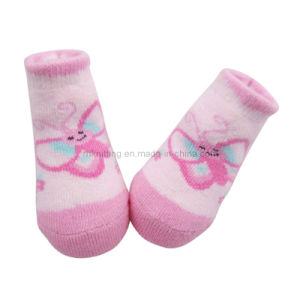 Full Terry Cotton Baby Sock (BS-29)