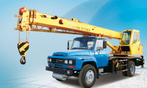 Hot Sale 25 Ton Truck Crane Mounted Crane pictures & photos