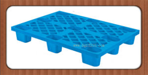 China Nestable Eco-Friendly Plastic Shipping Pallet for Warehouse Manufacturer pictures & photos