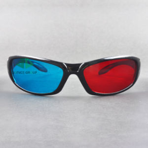 Plastic Cyan Red 3D Glasses (SN3D 042P)