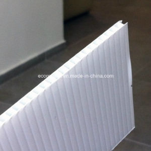 White Corrugated Plastic Sheet pictures & photos