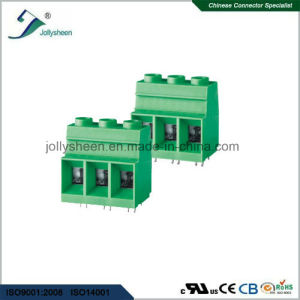 PCB Screw Terminal Blocks Pitch 15.0mm 180deg Straight Type pictures & photos