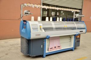 Flat Knitting Machine Double System Complete in Specifications Hot Sale
