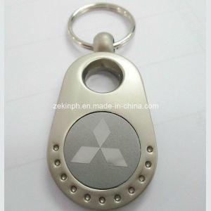 Custom Made Mitsubishi Car Logo Keychain pictures & photos