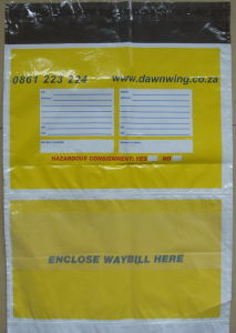 Branded Courier Safety Co-Extruded PE Plastic Bags for Protection (FLC-8602) pictures & photos