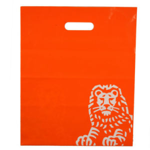 Durable LDPE Custom Printed Pouch Hole Plastic Bags for Garments (FLD-8565) pictures & photos
