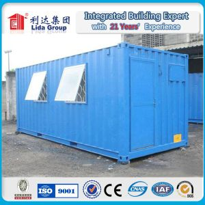 Sea Box Containers Standard Booth Design Two Story Container House pictures & photos
