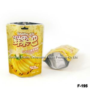 Custom Order Aluminum Stand up fruit Pouch Bag pictures & photos