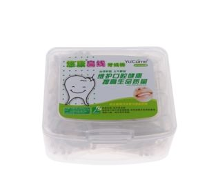 High Quality Flat Wire Dental Floss Pick Toothpick Oral Care pictures & photos