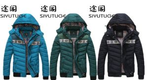 Waterproof OEM Mens Down Fashion Hoody Winter Padding Jacket pictures & photos