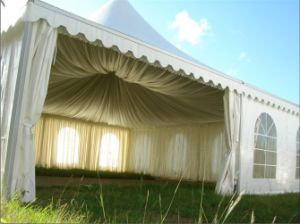 12X12m Luxury Pagoda Tent with Linings pictures & photos