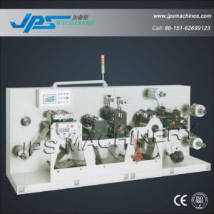 Jps-320s Self-Adhesive Preprinted Label Intermittent Slitting & Rotary Die Cutting Machine pictures & photos