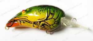 Fishing Lure--UV Coated Top Grade Lifelike Crank Bait (HW001) pictures & photos