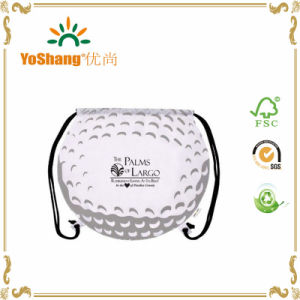 Sport Ball Golf Ball Drawstring Backpack pictures & photos