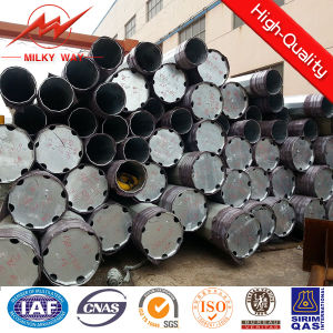 Round 5mm 20m Steel Transmission Pole for Power Distribution pictures & photos