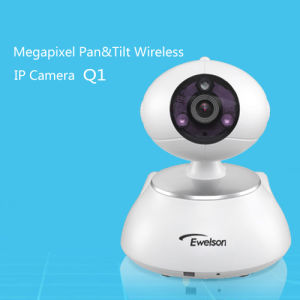 HD 720p Free P2p Security Wireless Network IP Camera, Your Home Security Robot (Q1)