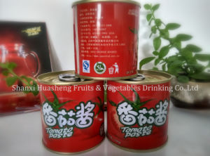 198g 14%-16% Canned Tomato Paste pictures & photos