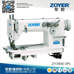 Zoyer Chain Stitch Industrial Sewing Machine with Puller (ZY3800-3PL) pictures & photos