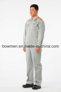 MOQ Fire Retardant Oil Gas Station Safety Coverall Workwear