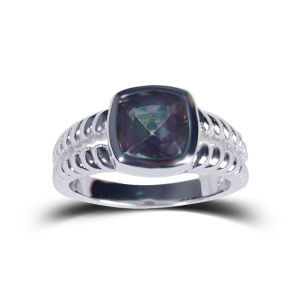 925 Silver Fashion Natural Stone Jewelry Rings