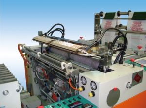 Full-Automatic Double-Line Hot-Sealing & Hot-Cutting Vest Bag Making Machine (Manufacturer) pictures & photos
