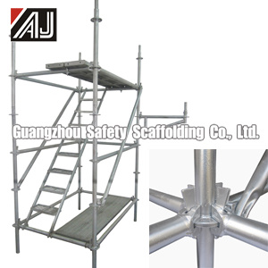 Q235 Steel Multidirectional Scaffold, Guangzhou Manufacturer pictures & photos