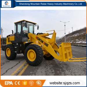 Chinese Construction Machine 3 Ton Mini Wheel Loader for Sale pictures & photos