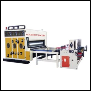 Water Ink Type Corrugated Cardboard Printing Machine pictures & photos