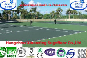 Customized Outdoor Tennis Court Sports Flooring pictures & photos