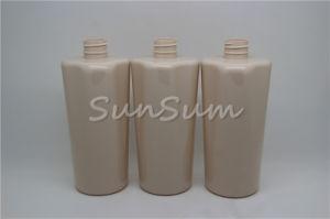 Shampoo Empty Bottle 500ml Plastic Pet Lotion Bottle for Cosmetic pictures & photos