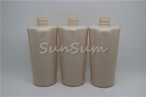 Shampoo Empty Water Bottle 500ml Plastic Jar Pet Lotion for Cosmetic Container pictures & photos