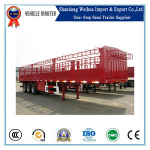 China Livestock Carrier, Fence Cargo Semi Trailer for Sale pictures & photos