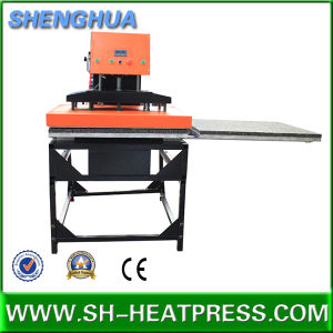 Pneumatic Double Heat Press Machine 60X80cm and 80X100cm pictures & photos